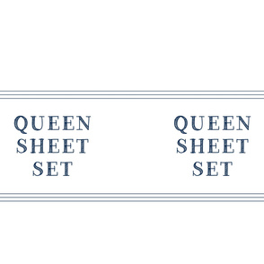 Queen sheet set linen closet storage bag