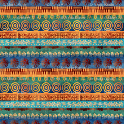 african stripe
