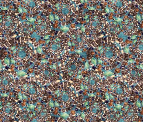 bead bracelet fabric by kociara on Spoonflower - custom fabric