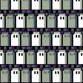 Pixel Graveyard Zigzag