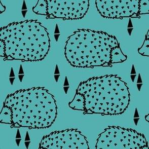 Hedgehogs - Tiffany Blue