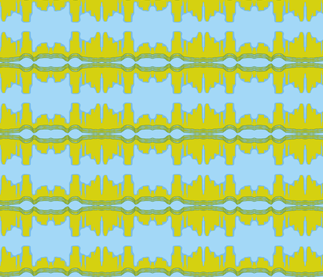 City By the Bay fabric by robin_rice on Spoonflower - custom fabric