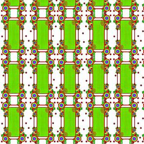 Spring Blossom Stripes