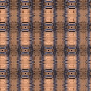 Grain Tones Columns and Plaid © Gingezel™ 2013