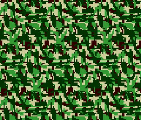 8bit_design fabric by vlike on Spoonflower - custom fabric