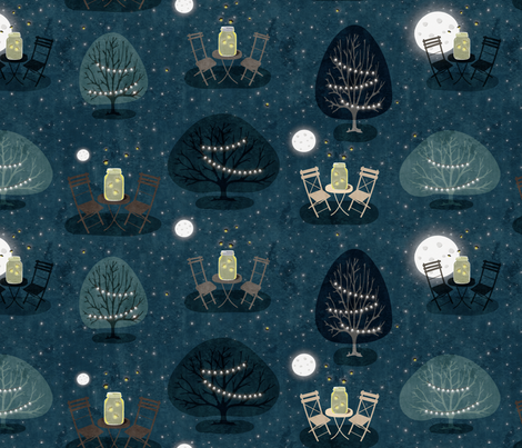 Twinkle Twinkle fabric by happyprintsshop on Spoonflower - custom fabric