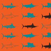 Blue Royal Billfish Slam orange-ch