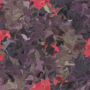 Autumn Flame and Hibiscus Brown in Fractals