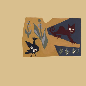 Animal Fable II 1947 Monkey and Bird