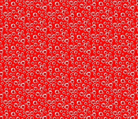 Rhinovirus Red fabric by will_la_puerta on Spoonflower - custom fabric