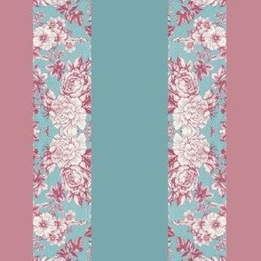 Fabric_Floral Stripe