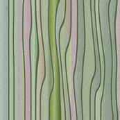Nouveau Stripes Sponge Green