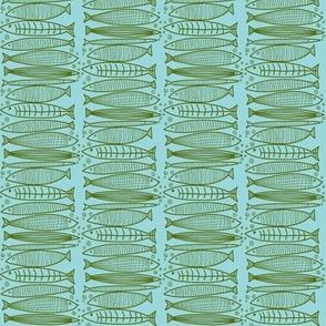 seaweed green fish