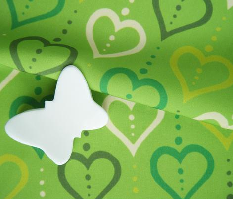 Heart Chain - Green