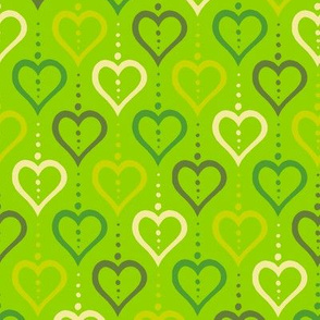 Heart Chain - Green