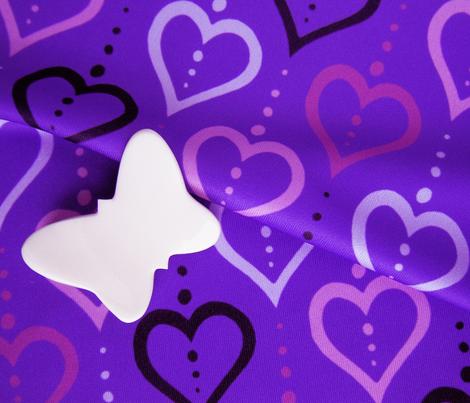 Heart Chain - Violet
