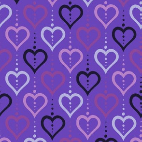 Heart Chain - Violet