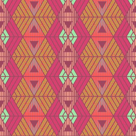 African Geometric Summer fabric by kimsa on Spoonflower - custom fabric