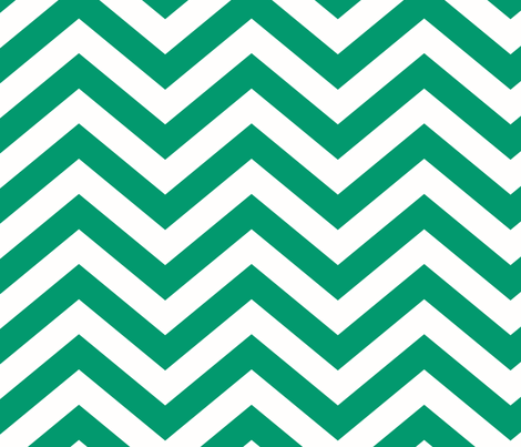 SUNSHINE_CHEVRON_EMERALD fabric by juneblossom on Spoonflower - custom fabric