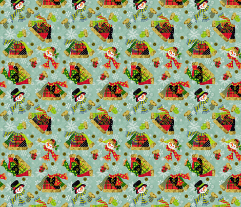 A_Bit_Flakey_Outside fabric by kelly_a on Spoonflower - custom fabric