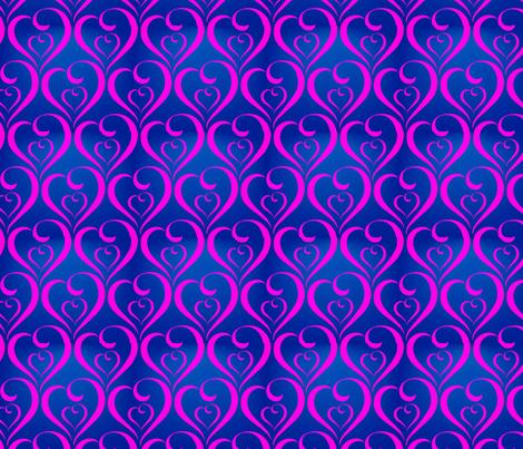 Twinkle Little Heart 2 fabric by firedryad1 on Spoonflower - custom fabric