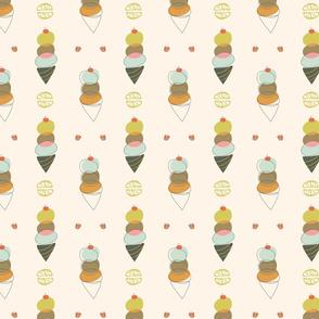 Gelato cones