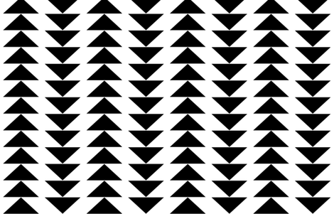 big flying triangle spaced fabric by candykirbydesigns on Spoonflower - custom fabric