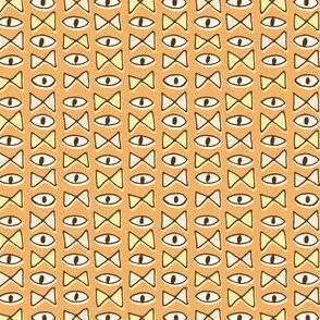 Eye Bow Tie | Orange