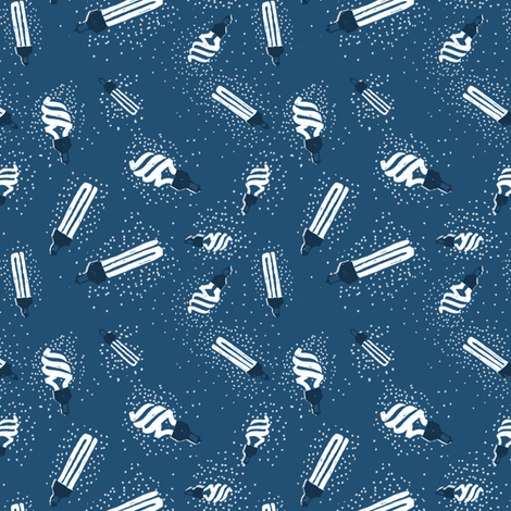 Lights fabric by crumpetsandcrabsticks on Spoonflower - custom fabric