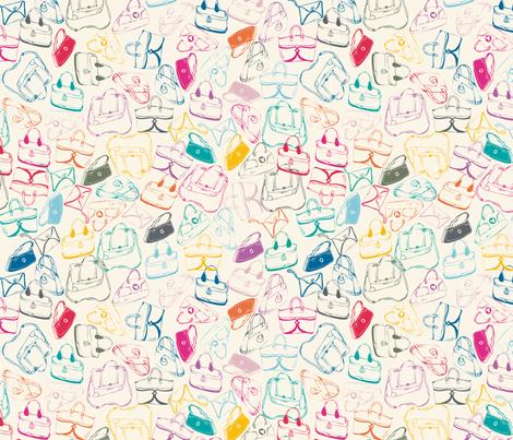 Handbags_Mania fabric by bethanialimadesigns on Spoonflower - custom fabric