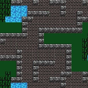 Fantasy Dungeon Adventure Map