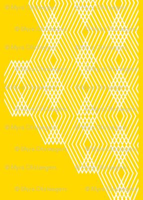 zigzag wires yellow