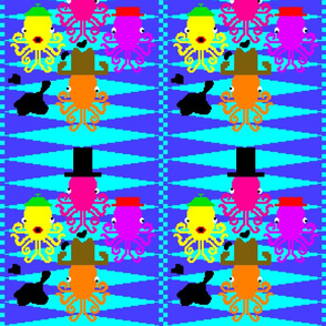 2013.07 8-bit Octopode Tiled