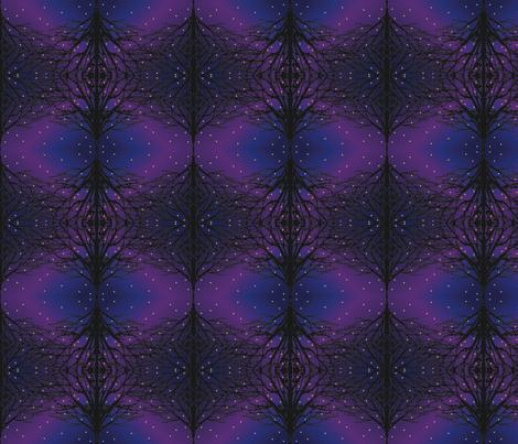 Firefly Forest fabric by schlir07 on Spoonflower - custom fabric