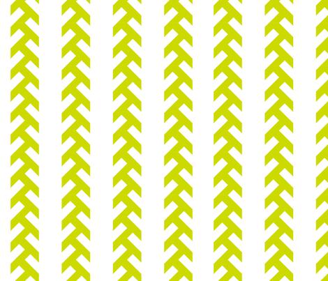 Tractor tracks - green fabric by newmomdesigns on Spoonflower - custom fabric