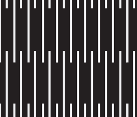 Out of Line fabric by mooddesignstudio on Spoonflower - custom fabric