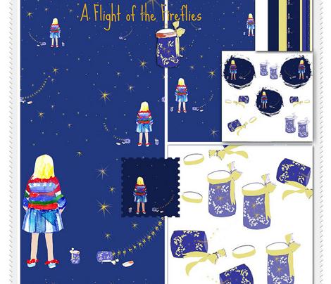 Fireflies on a Starry Night