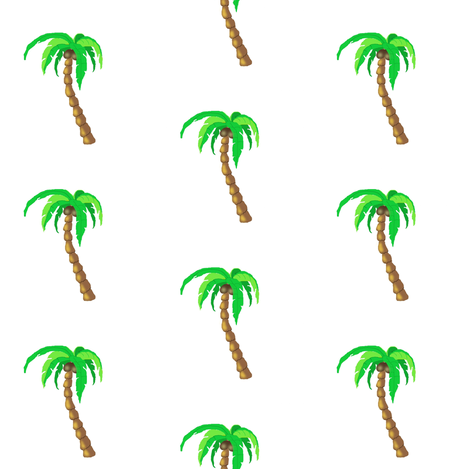 palm tree fabric by paragonstudios on Spoonflower - custom fabric