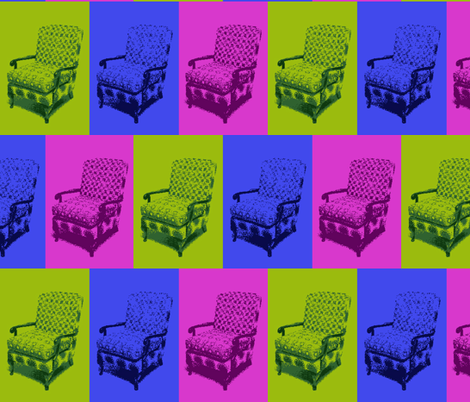 8_Bit_Chairs fabric by allanamay on Spoonflower - custom fabric