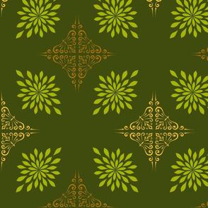medalion-Olive