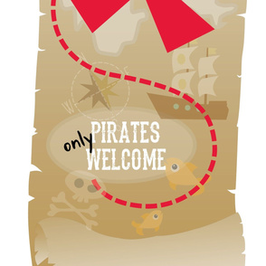 Pirate Party Door Panel