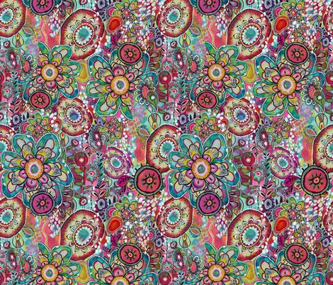 Miss Ariel fabric by stephaniecorfee on Spoonflower - custom fabric