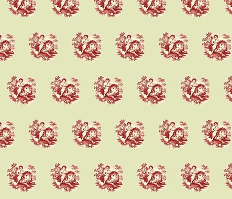 Peaceable Kingdom fabric by amyvail on Spoonflower - custom fabric