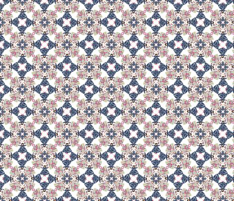 flora_circle_2 fabric by lfntextiles on Spoonflower - custom fabric
