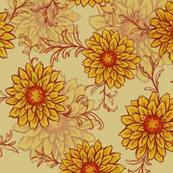 Autumn Sunflowers