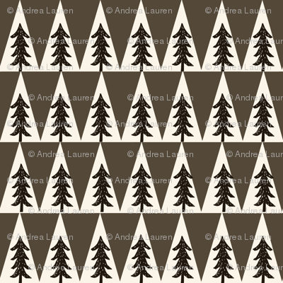 trees // brown triangle outdoors cream khaki forest