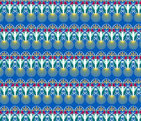 English Fireflies fabric by koko_hunt on Spoonflower - custom fabric
