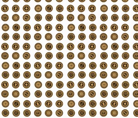 poker_chips-02 fabric by bhavya on Spoonflower - custom fabric