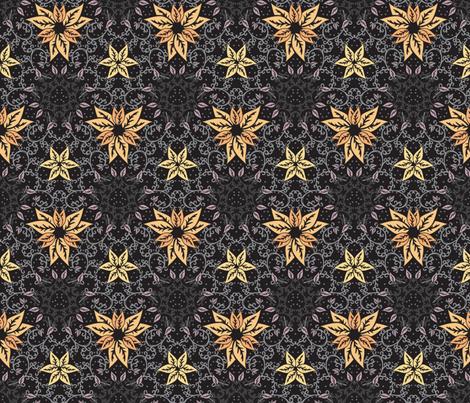 Decorative autumn fabric by ilyianne on Spoonflower - custom fabric