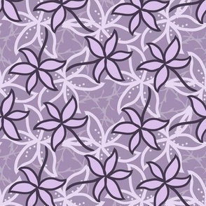 Lilac floral